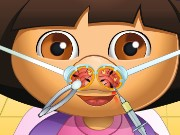 Dora Nose Doctor Game