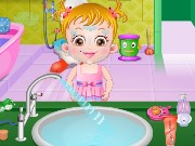 Baby Hazel Bathroom Hygien Game