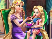 Rapunzel Mommy Toddler Feed Game