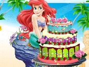 Ariel Cake Decor Game