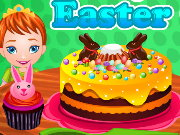 Baby Anna Easter Cake Game