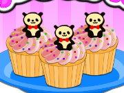 panda cupcakes spiel
