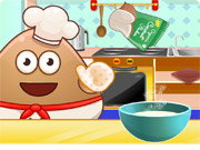Pou cooking Raffaelo Game