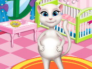 Pregnant Angela Baby Room Decor Game