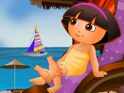 Baby Dora At The Spa Game