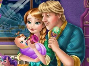 Anna And Kristoff Baby Feeding Game