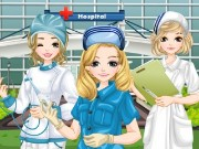 Dressup Hospital Nurses Game