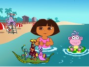 Dora Find Floatie Game