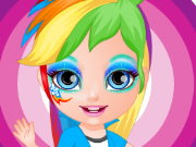 Little Pony Face Painting Game