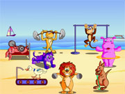 Cute Animal Olympics Game