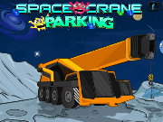 Space Crane Parking Game