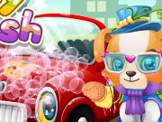 Puppy Car Wash Game