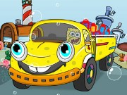 Spongebob Food Transport Game