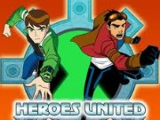 Ben 10 And Generator Rex Heroes United