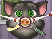 Talking Tom Nose Doctor Game