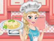 Elsa Cooking Spaghetti Game