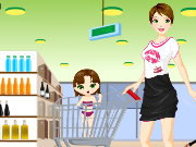 Grocery Shopping DressUp Game
