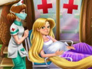 Rapunzel Birth Care Game