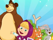 Masha And The Bear Summer Fun Game