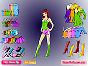 Anime Girl Dress Up Game