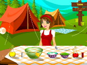 Camping Cooking Game
