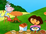 Dora Picnic Restaurant Game