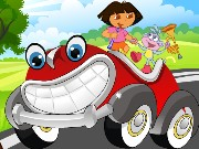 Dora Merry Ride Decor Game