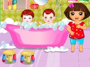 Dora Sibling Care Game