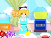 Candy Booth Management Game