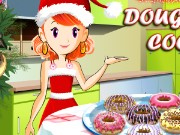 Christmas Doughnut Cooking Game