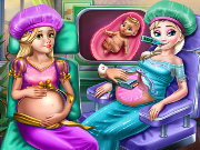 Royal Pregnant Bffs Check-up Game