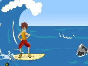 Surfing Danger Game