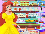 Ariel Wedding Cake Cooking Game