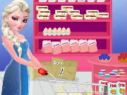 Elsa Wedding Cake Cooking Game