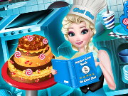 Elsa Sweet Shop Game